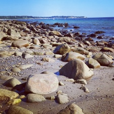 A beautiful Sunday morning on Manomet Beach