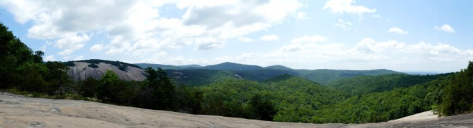 Cedar Ridge with Stone Mountain to the left