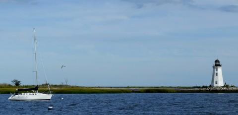 Blackrock Harbor Lighthouse, Bridgeport, CT