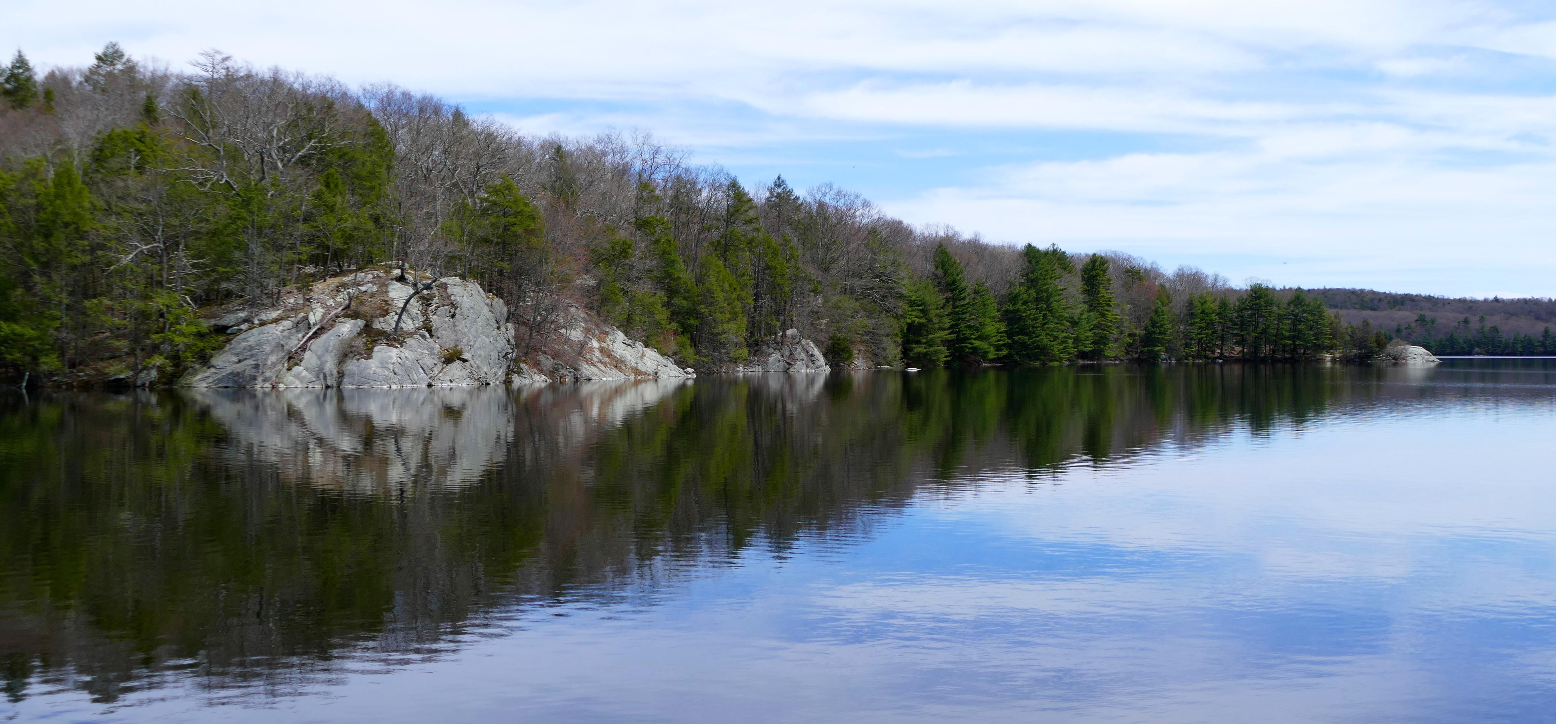 a20786b1c464 Saugatuck Reservoir in Spring (Redding